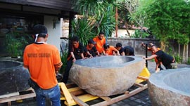 Bayu Bali Cargo Bathtub Project