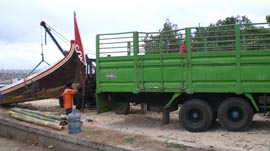 Bayu Bali Cargo Big Boat Shipping Process