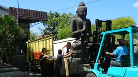 Bayu Bali Cargo Big Budha Shipping Process