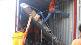 Bayu Bali Cargo Big roat Shipping Process